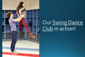 Our Swing Dance Club in action!